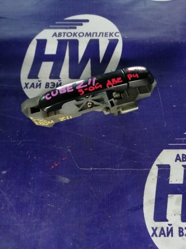 Ручка задней двери Nissan Cube BZ11 CR14 (б/у)