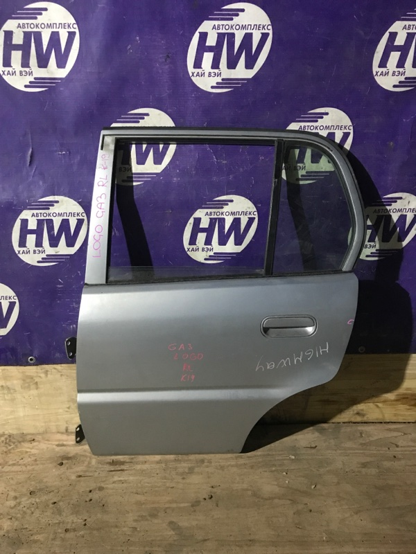 Дверь Honda Logo GA3 D13B 2000 задняя левая (б/у)