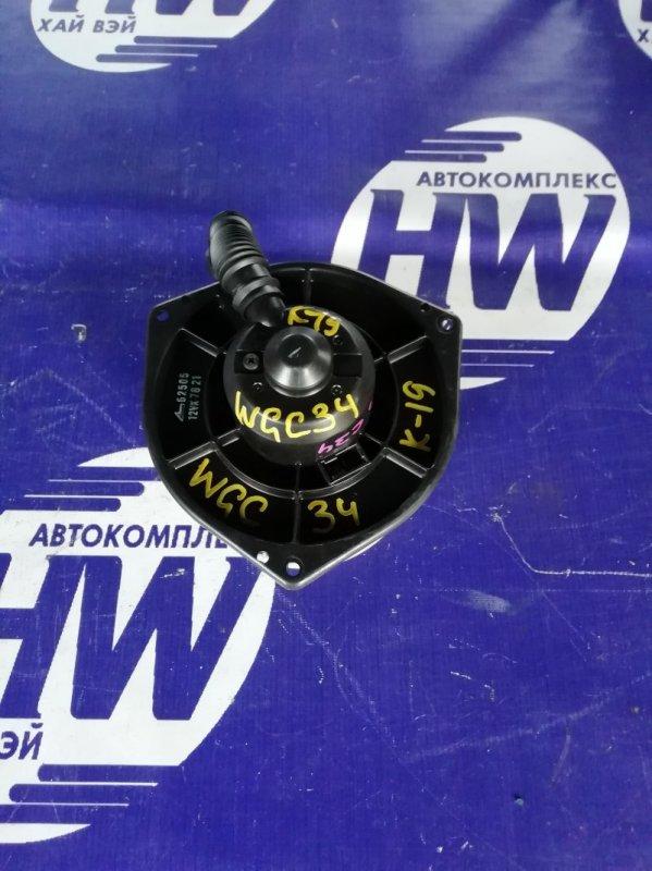 Мотор печки Nissan Stagea WGC34 RB25 (б/у)