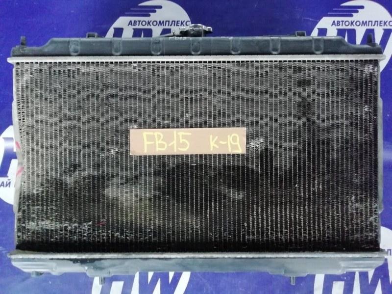 Радиатор Nissan Sunny FB15 QG15 2000 (б/у)