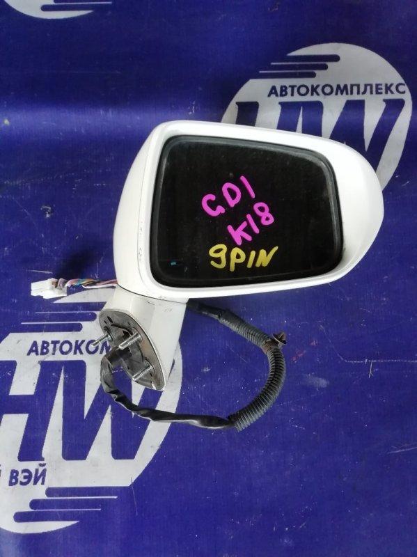 Зеркало Honda Fit GD1 L13A правое (б/у)