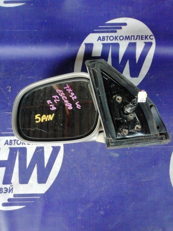 Зеркало Suzuki Grand Escudo TX92W H27A 2001 левое (б/у)