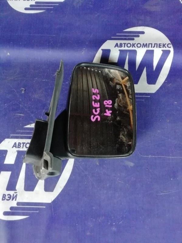 Зеркало Nissan Caravan SGE25 QR25 правое (б/у)