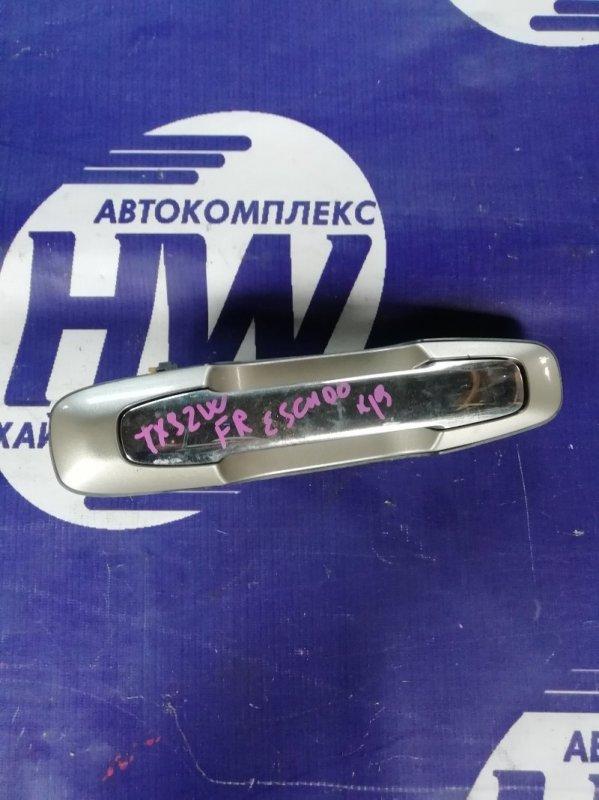 Ручка двери внешняя Suzuki Grand Escudo TX92W H27A 2001 передняя правая (б/у)