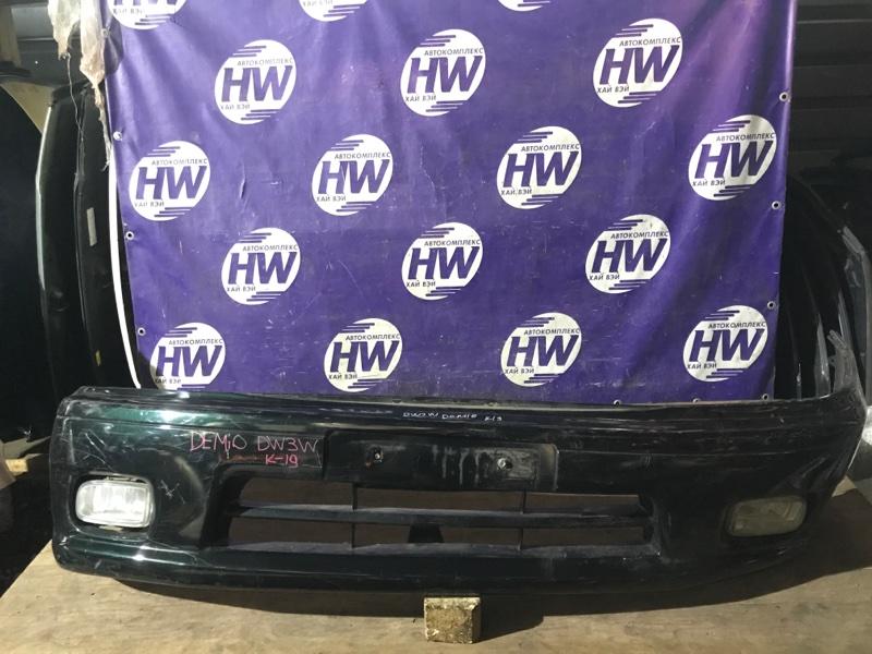 Бампер Mazda Demio DW3W B3 1997 передний (б/у)