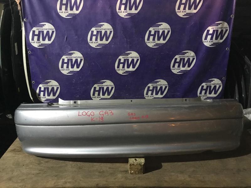 Бампер Honda Logo GA3 D13B 2000 задний (б/у)