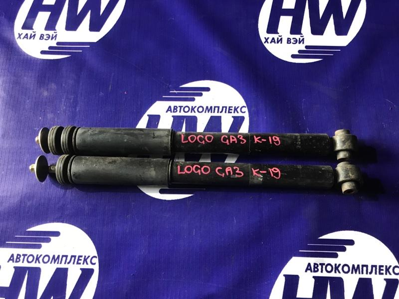 Амортизатор Honda Logo GA3 D13B 2000 задний (б/у)