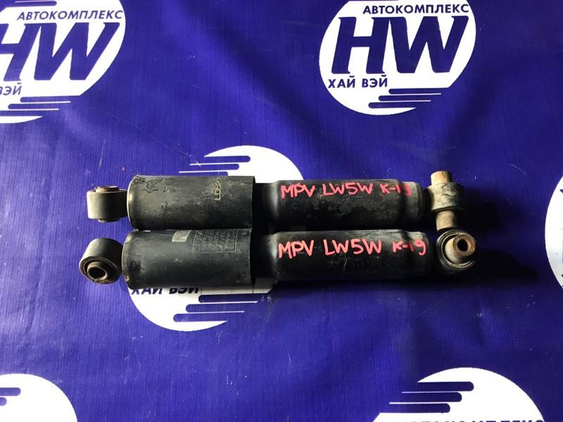 Амортизатор Mazda Mpv LW5W GY задний (б/у)