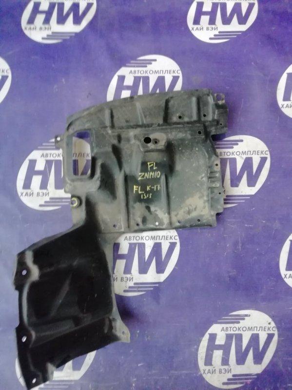 Защита двигателя Toyota Isis ZNM10 1ZZ левая (б/у)