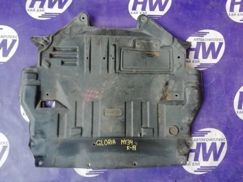 Защита двигателя Nissan Gloria HY34 VQ30DET (б/у)