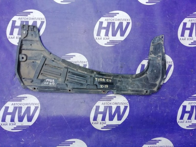 Защита двигателя Nissan Tiida C11 HR15 (б/у)
