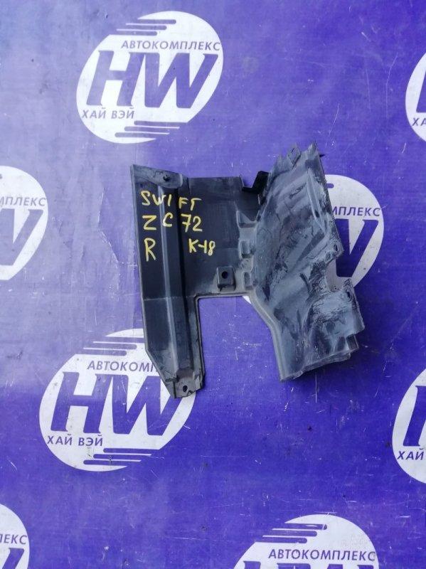 Защита двигателя Suzuki Swift ZC72S K12B 2011 правая (б/у)