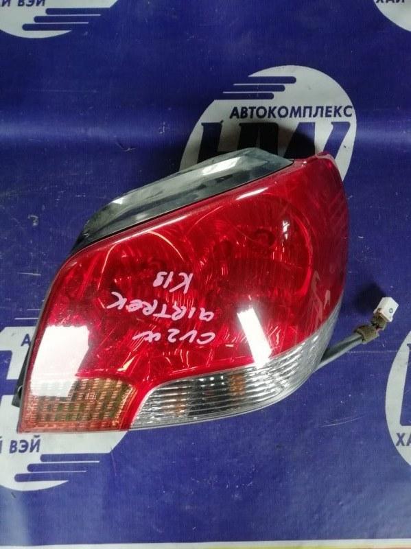 Стоп Mitsubishi Airtrek CU2W 4G63T 2003 правый (б/у)