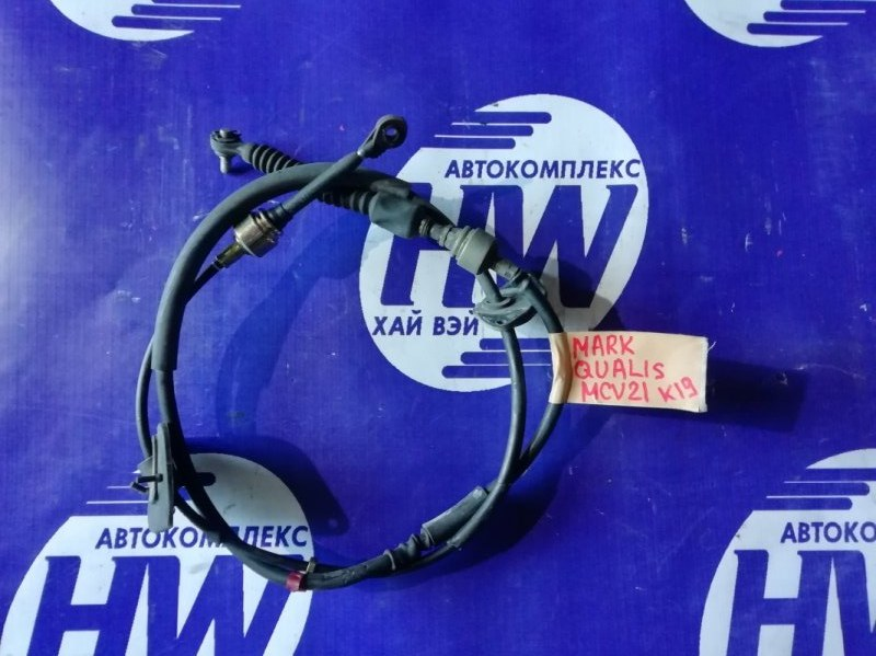 Трос переключения акпп Toyota Mark Ii Qualis MCV21 2MZ 2001 (б/у)