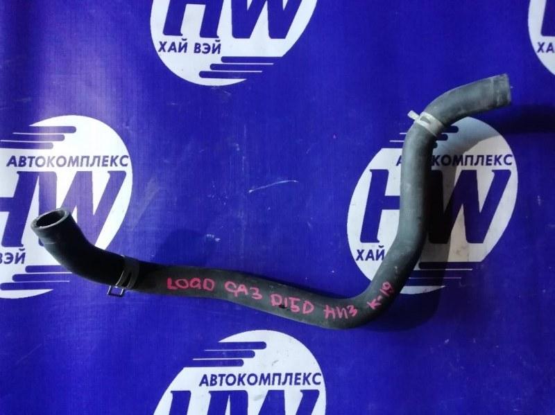 Патрубок радиатора Honda Logo GA3 D13B 2000 нижний (б/у)