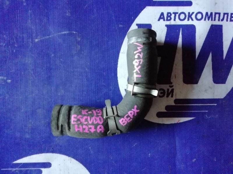 Патрубок радиатора Suzuki Grand Escudo TX92W H27A 2001 верхний (б/у)