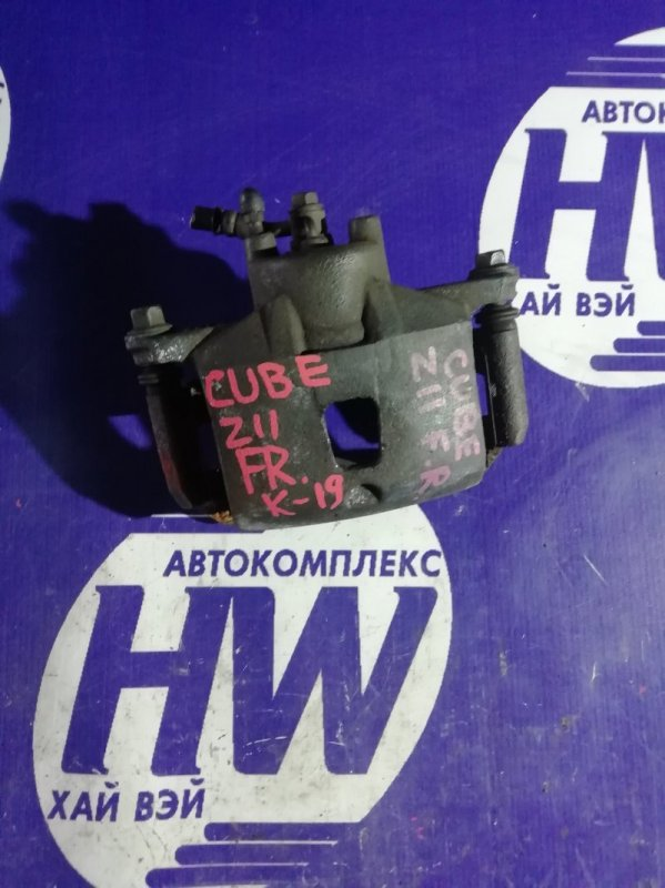 Суппорт Nissan Cube BZ11 CR14 передний правый (б/у)