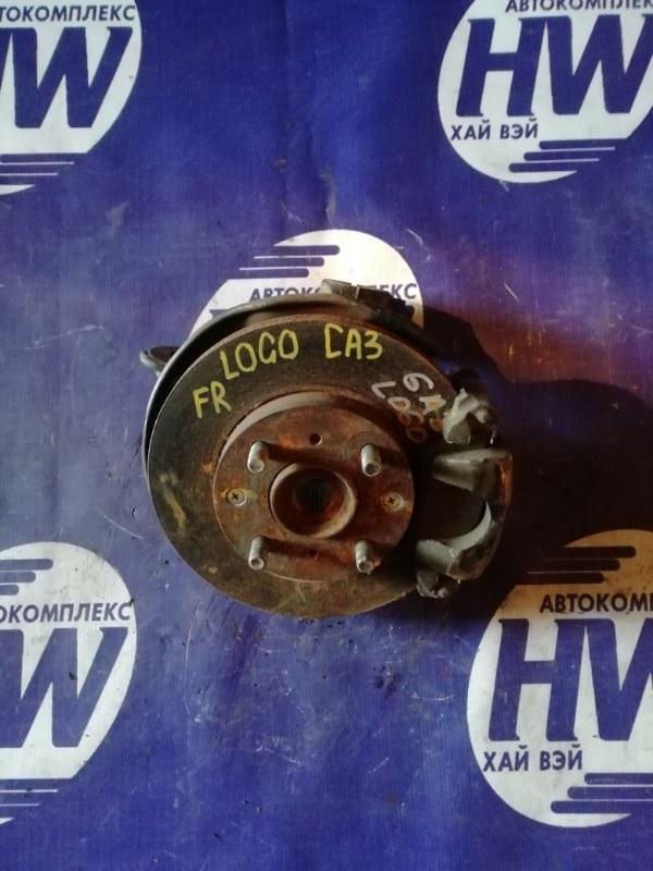 Ступица Honda Logo GA3 D13B 2000 передняя правая (б/у)