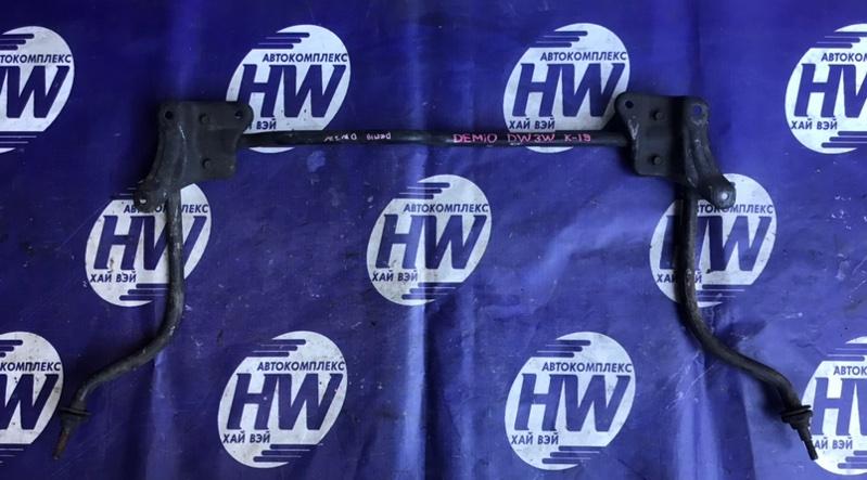 Стабилизатор Mazda Demio DW3W B3 1997 передний (б/у)