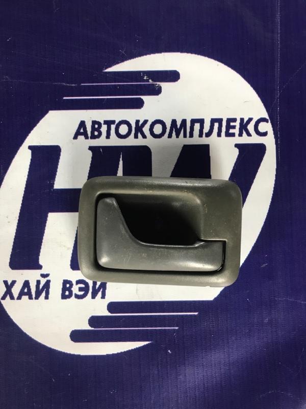 Ручка двери внутренняя Suzuki Wagon R Wide MA61S K10AT задняя правая (б/у)