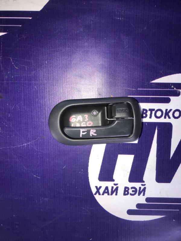 Ручка двери внутренняя Honda Logo GA3 D13B 2000 передняя правая (б/у)