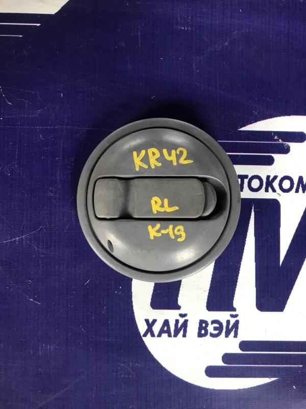 Ручка стеклоподъемника Toyota Noah KR42 7K 2000 задняя левая (б/у)