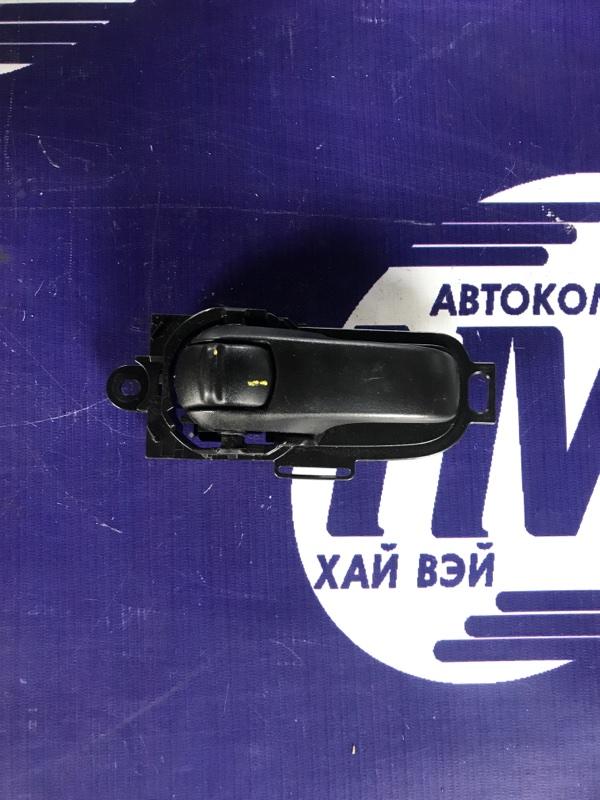 Ручка двери внутреняя Nissan Cube BZ11 CR14 передняя левая (б/у)