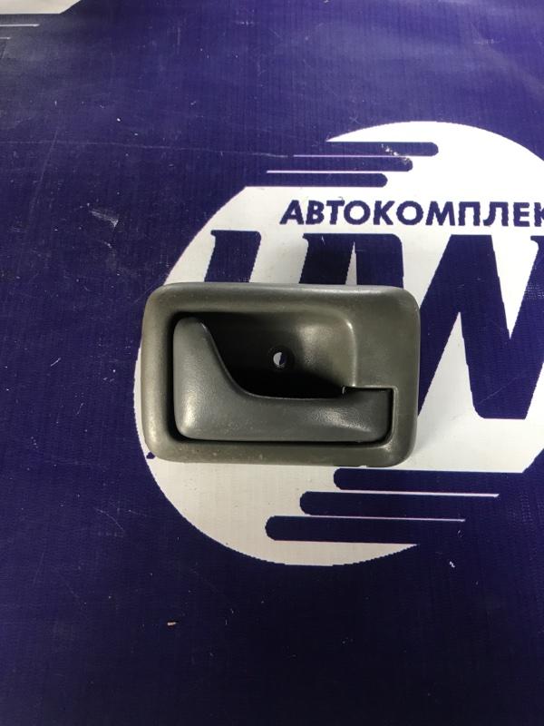 Ручка двери внутренняя Suzuki Wagon R Wide MA61S K10AT передняя правая (б/у)