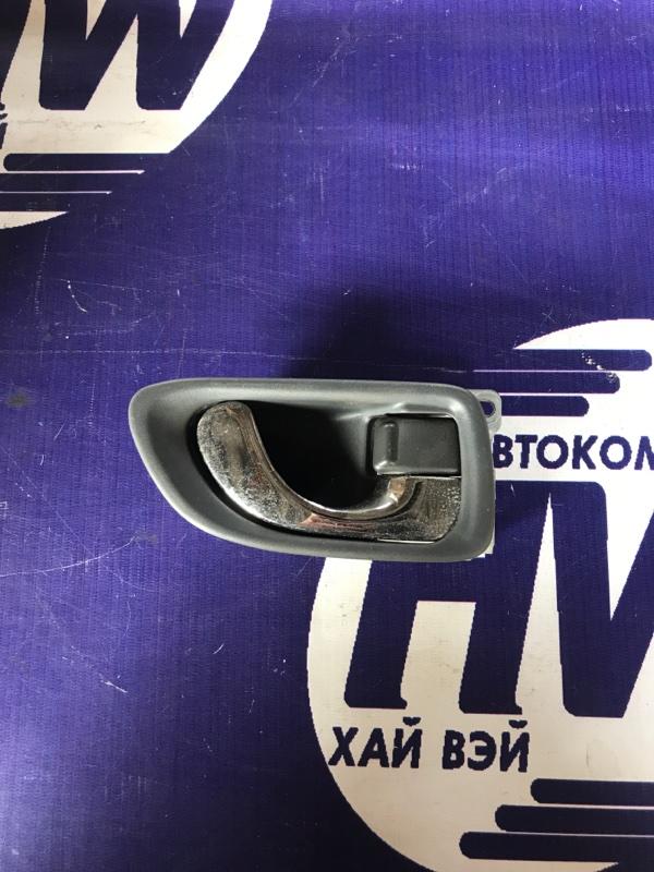 Ручка двери внутренняя Mitsubishi Galant EA1A 4G93 задняя правая (б/у)