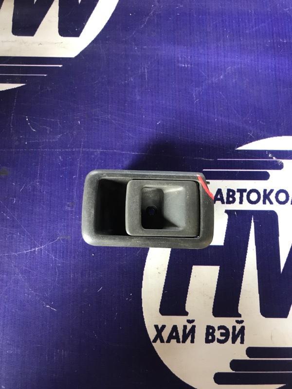 Ручка двери внутренняя Toyota Corsa EL51 4E передняя левая (б/у)