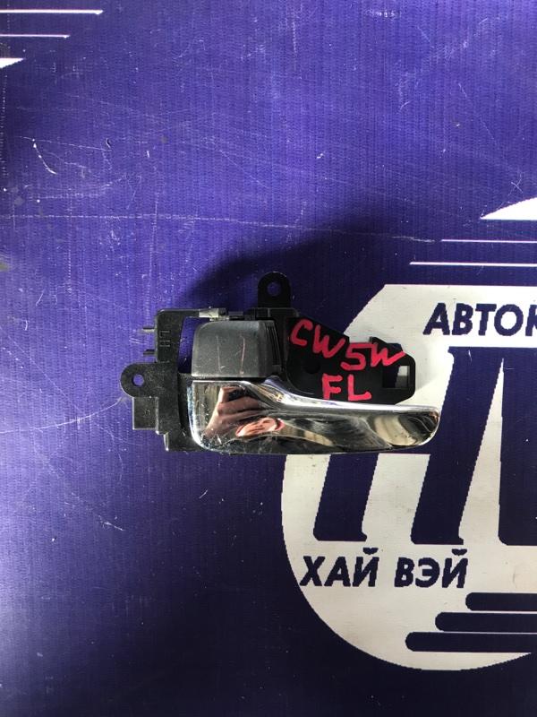 Ручка двери внутренняя Mitsubishi Outlander CW5W 4B12 передняя левая (б/у)