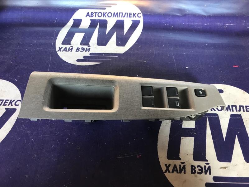 Блок упр. стеклоподъемниками Honda Freed GB3 L15A 2008 передний правый (б/у)