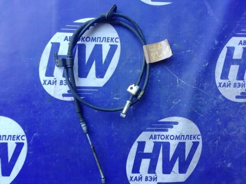 Трос ручника Honda Fit GD1 L13A 2001 задний левый (б/у)