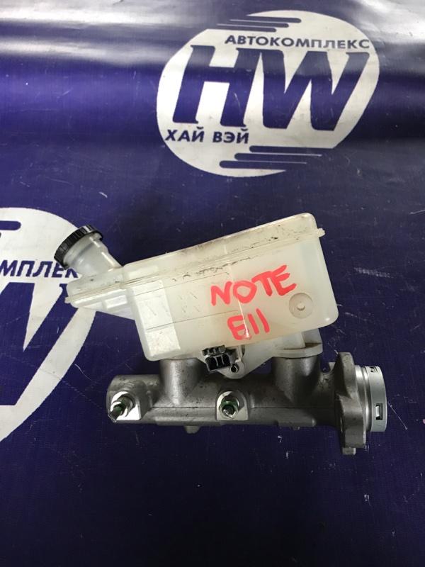 Главный тормозной цилиндр Nissan Note E11 HR15 (б/у)