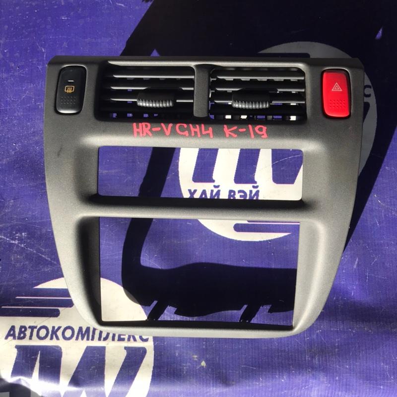 Консоль магнитофона Honda Hr-V GH4 D16A 1999 (б/у)