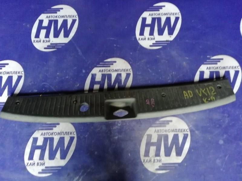 Накладка замка багажника Nissan Ad Y12 HR15 (б/у)