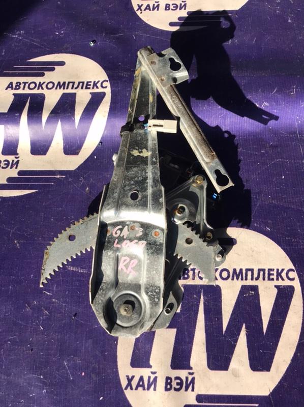 Стеклоподъемник Honda Logo GA3 D13B 2000 задний правый (б/у)