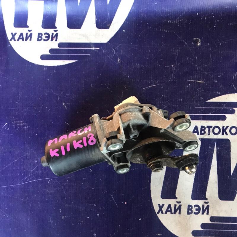 Мотор дворников Nissan March K11 CG10 (б/у)