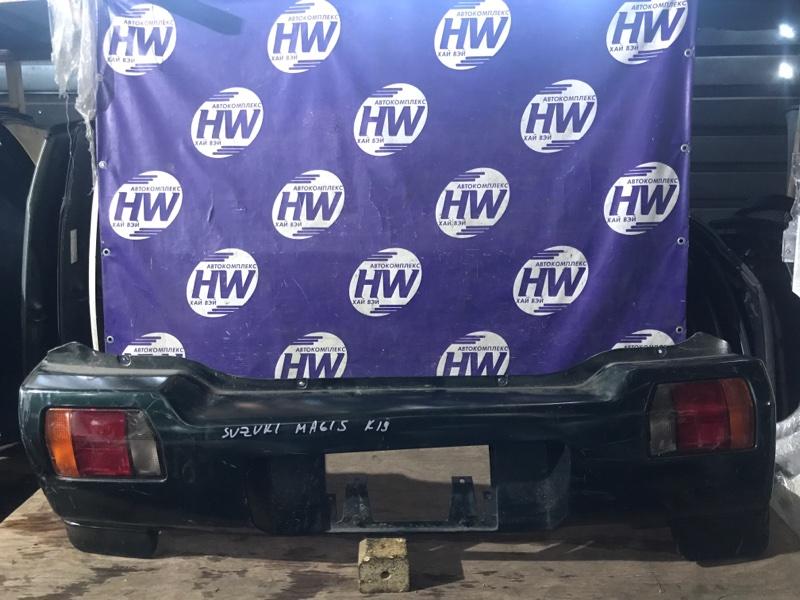 Бампер Suzuki Wagon R Wide MA61S K10AT задний (б/у)