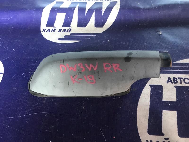 Крышка рейлинга Mazda Demio DW3W B3 1997 задняя правая (б/у)