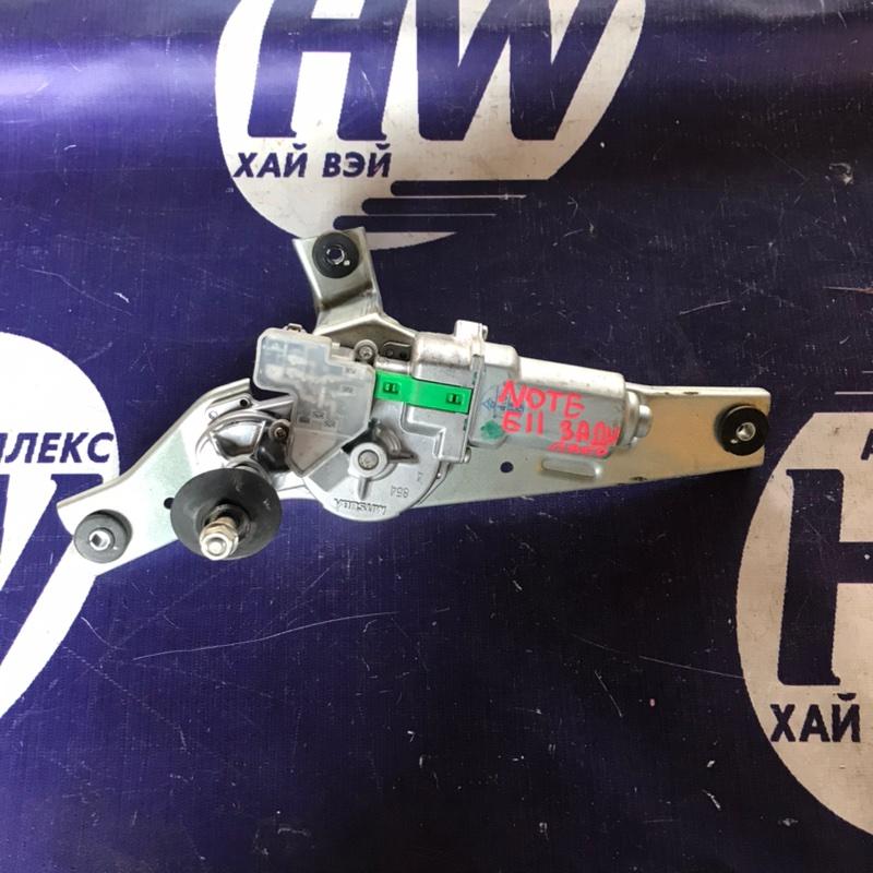 Моторчик заднего дворника Nissan Note E11 HR15 (б/у)