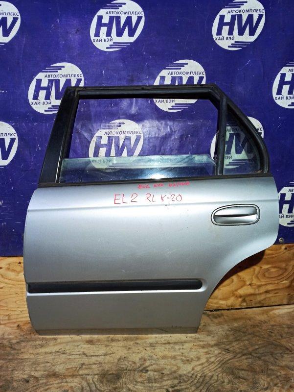 Дверь Honda Orthia EL2 B20B задняя левая (б/у)