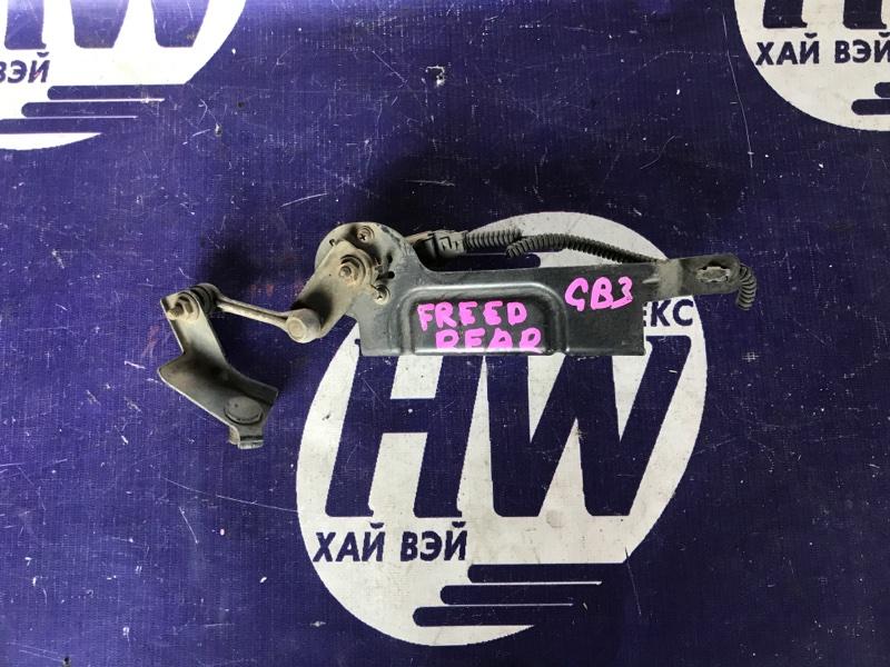 Датчик контроля высоты Honda Freed GB3 L15A 2008 задний (б/у)