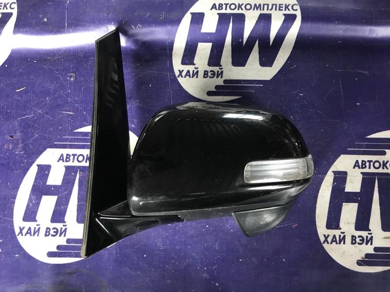 Зеркало Toyota Estima ACR50 2AZ левое (б/у)