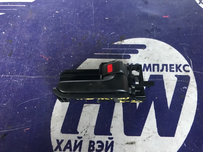 Ручка двери внутренняя Toyota Ist NCP60 2NZ задняя правая (б/у)