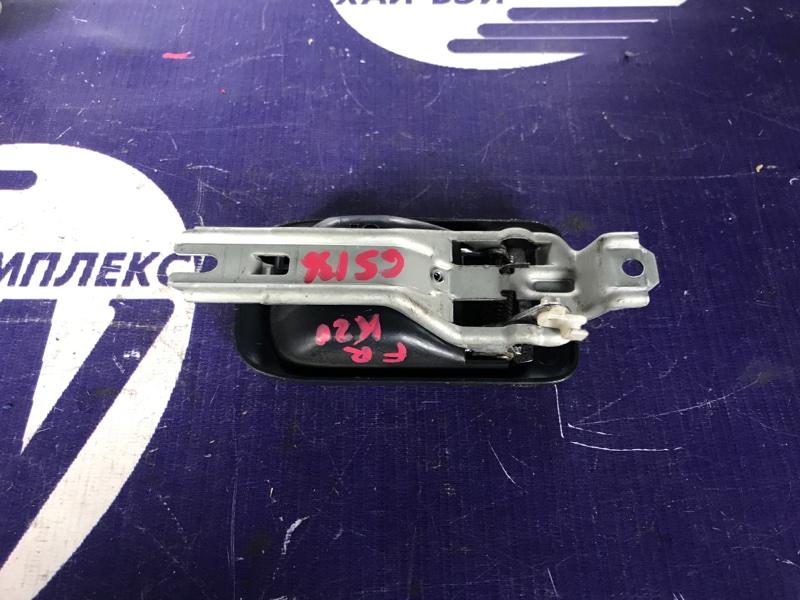 Ручка двери внутренняя Toyota Crown GS136 1G передняя правая (б/у)