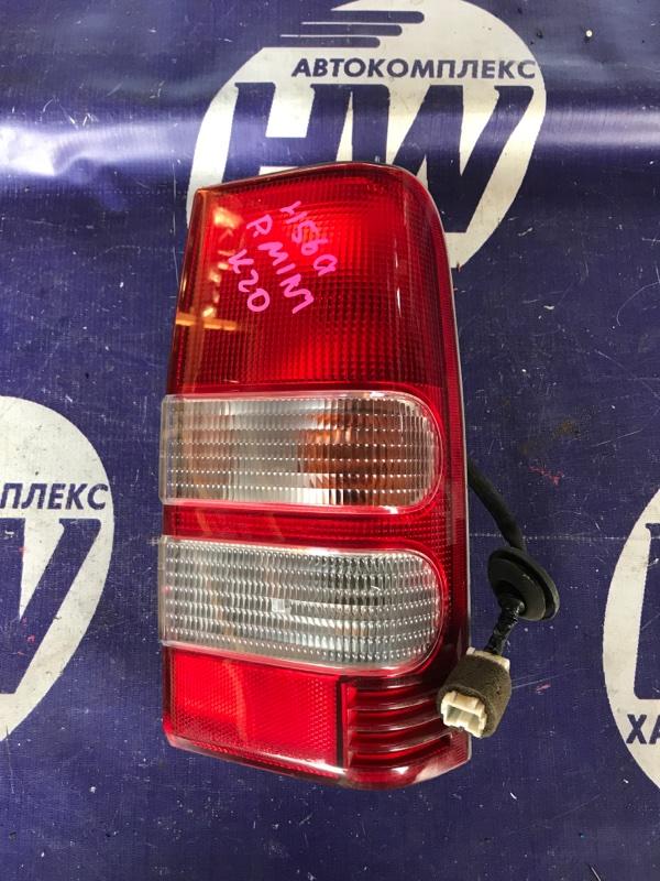 Стоп Mitsubishi Pajero Junior H57A 4A30 правый (б/у)