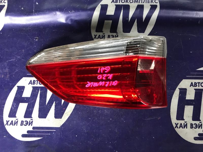 Стоп Honda Airwave GJ2 L15A левый (б/у)
