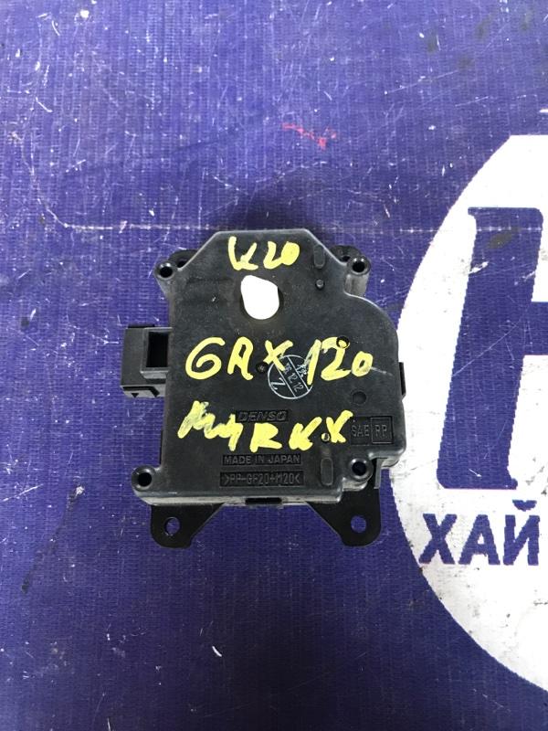 Моторчик привода заслонок печки Toyota Mark X GRX120 4GRFSE (б/у)