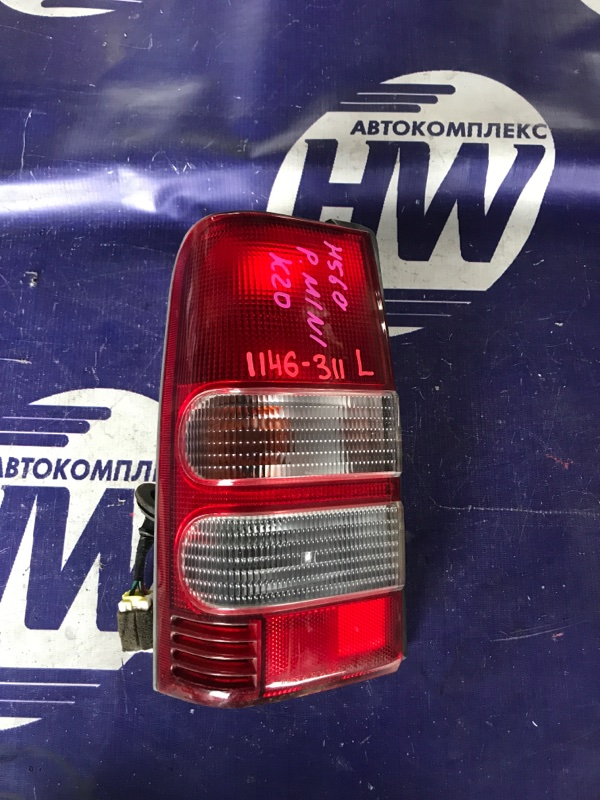 Стоп Mitsubishi Pajero Junior H57A 4A30 левый (б/у)